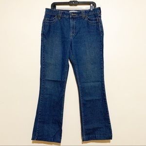 Levi's Dark Wash High Rise Bootcut Jeans Size 12